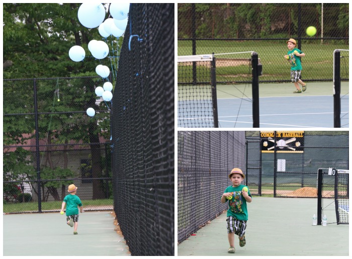 ball boy tennis 2014