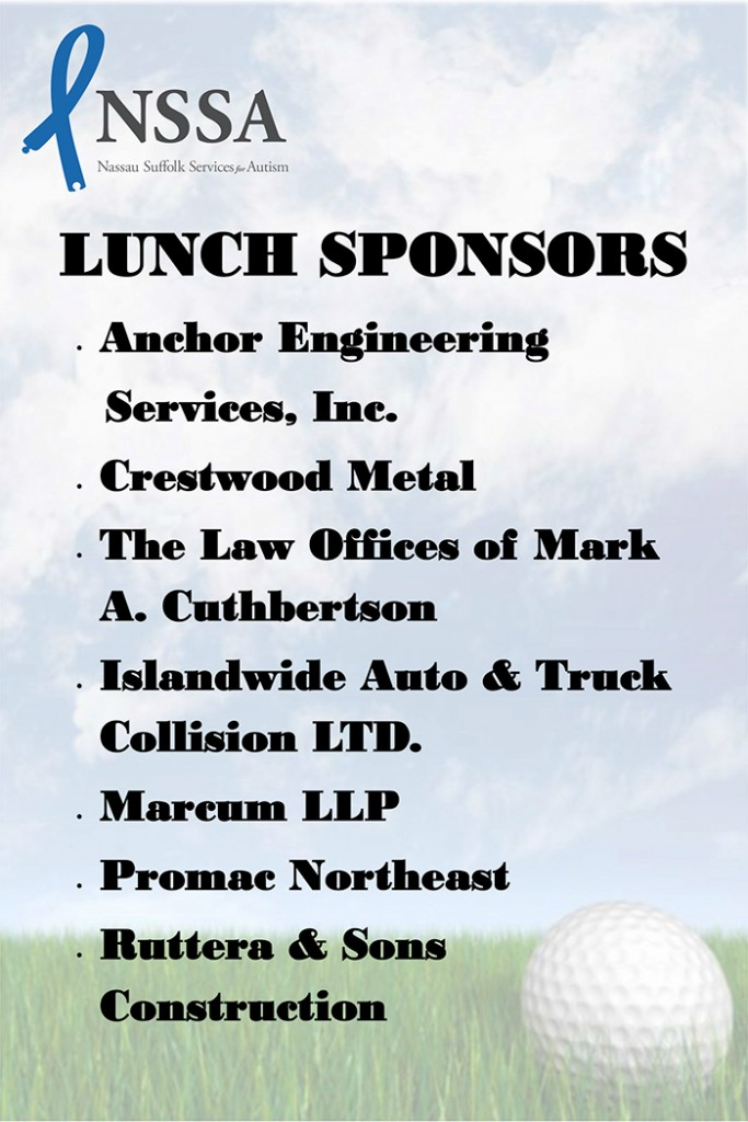 Breakfast Lunch Green Sponsors Sign 20x30-1