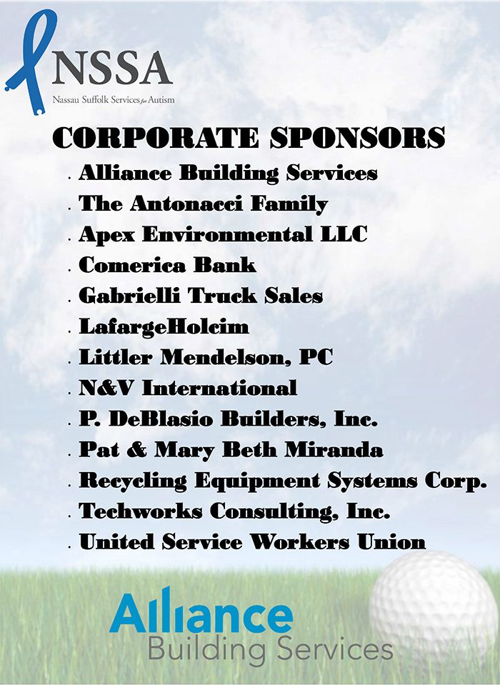 Corporate Sponsors Sign 30x40