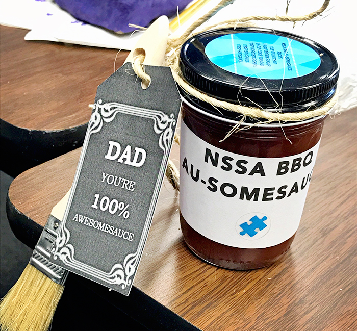nssa nassau suffolk services for autism fathers day craft project 6.16.17 10