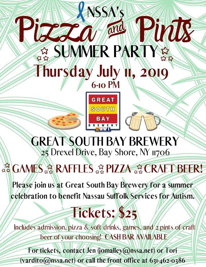 NSSA's Pizza & Pints Flyer websized