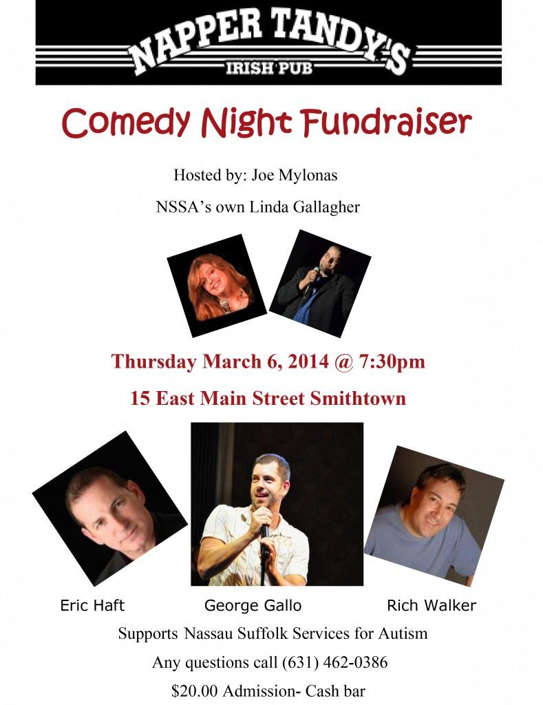 Comedy Night NSSA flyer