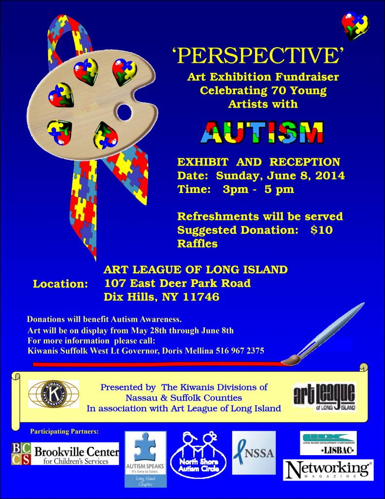 Autism Art Flyer .pub