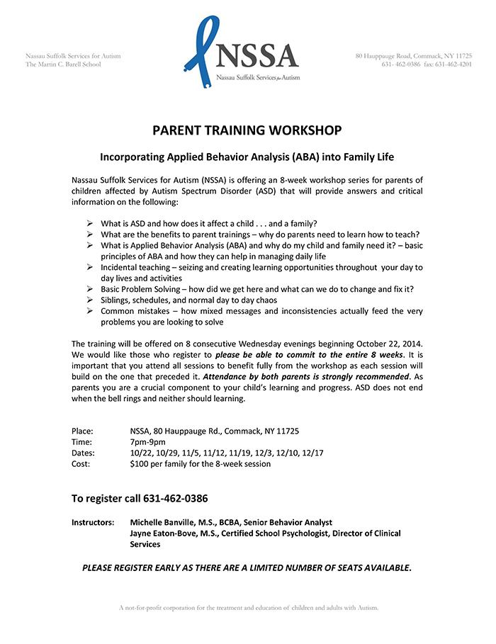 Parent Training Workshop Flyer_Fall-Winter 2014 (2)
