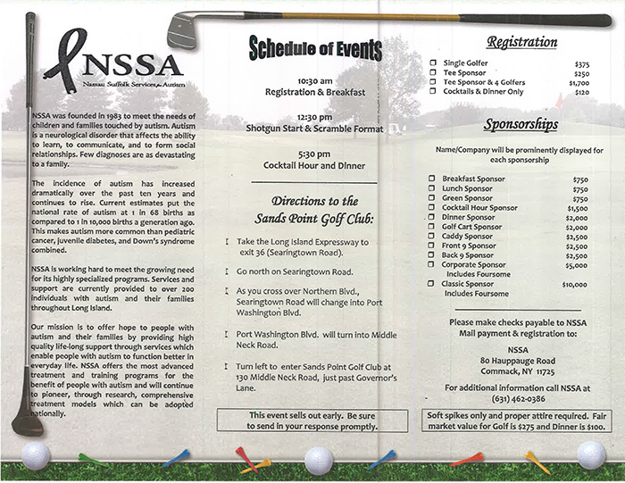 Golf Invitation 2016-2