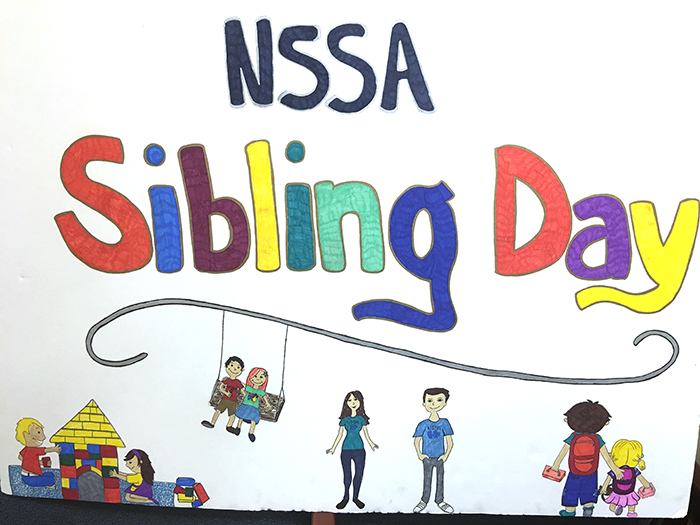 sibling day sign
